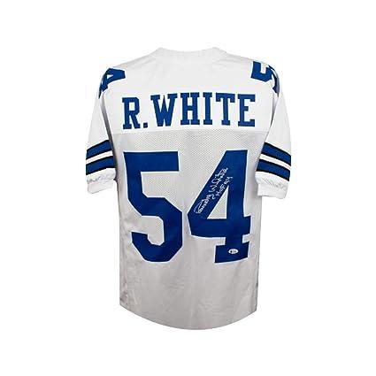 best authentic c536d be381 Randy White HOF Autographed Dallas Cowboys Custom White ...