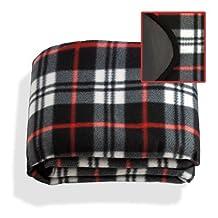 Waterproof & Windproof Fleece Stadium Picnic Blanket