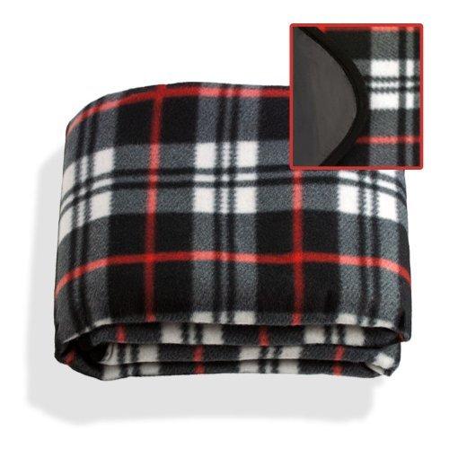 Waterproof & Windproof Fleece Stadium Picnic Blanket by Fix Find B009NJKXXS