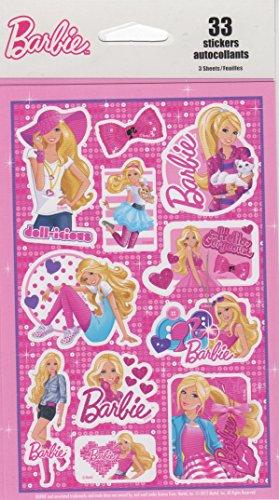 Kid Squad 75527 decorative barbie Scrapbook Stickers of size 4