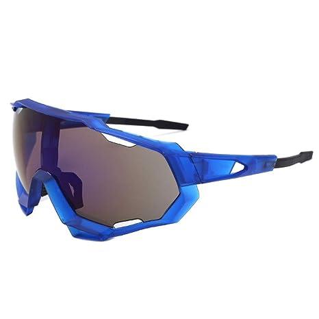 Gafas de bicicleta Gafas de sol para hombres Dazzle Color ...