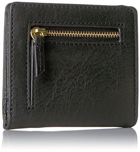4ef1931af2f Amazon.com: Fossil Women's Emma RFID Mini Wallet, Black, One Size: Fossil:  Shoes