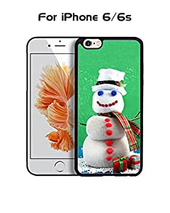 Snowmen Funda Case For Iphone 6s, Extra Slim Impact Resistant Protective Funda Case For Iphone 6 / 6s (4.7 inch)