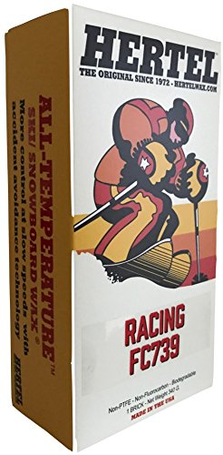 Hertel Wax Racing FC 739 All temperature ski/Snowboard wax 340 grams by Hertel Wax