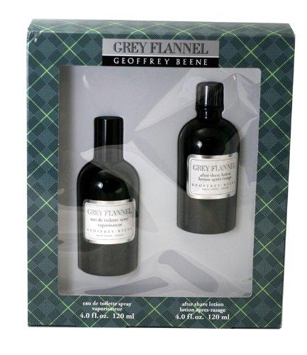 Grey Flannel Gift Set - Grey Flannel By Geoffrey Beene For Men. Gift Set (eau De Toilette Spray 4.0 Oz+ Aftershave 4.0 Oz )