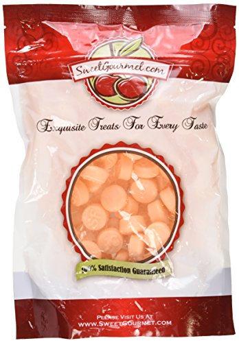 Cream Chews - Gimbals Sugar Free Orange and Cream Taffy Delight Chews, 1Lb