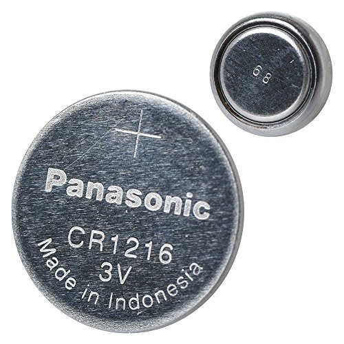 Panasonic CR1216 3 Volt Lithium Coin Battery (5 Batteries)