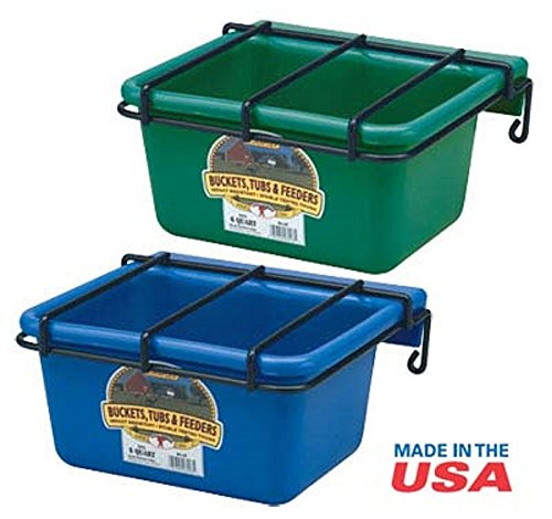 (Miller Little Giant GREEN Foal Utility Feeder)