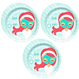 Little Spa Party Dinner Plates - 24 Pieces