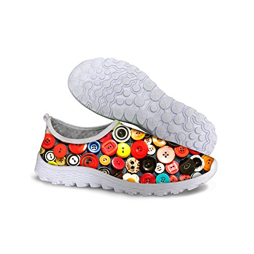 For U Design Stilige Lette Praktiske Mesh Sneaker Joggesko For Kvinner Multi C