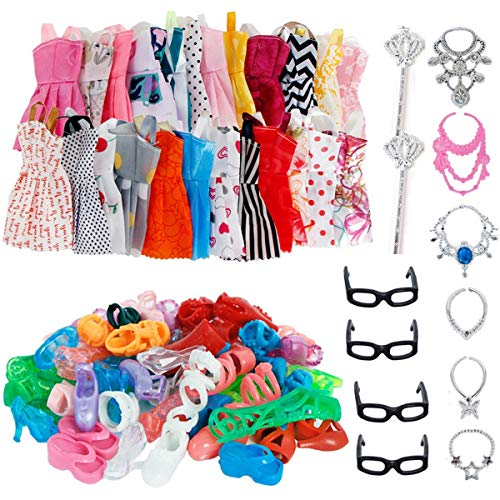32 PCS Doll Accessories, 10x Mix...