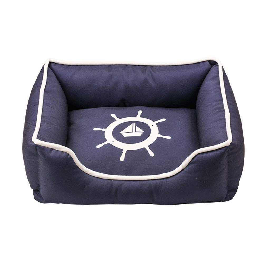 Small Pet Sofa Dog Nest Thickening Pet Nest Cat Litter Small Medium And Large Dogs All Removable And Washable Waterproof Kennel (Size   Small)