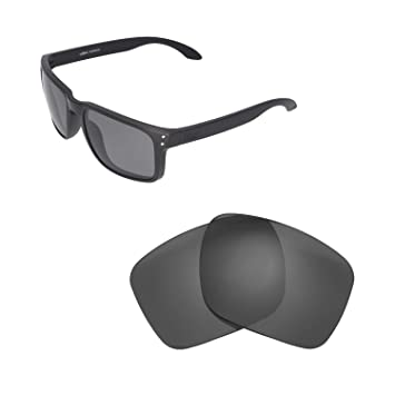 5000212b9a1 Walleva Replacement Lenses For Oakley Holbrook XL Sunglasses - Multiple  Options available (Black - Polarized