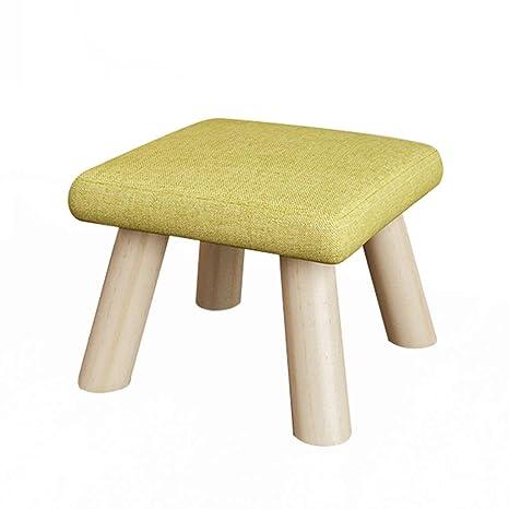 Amazon.com: Stool - Sofa Stool, Home Shoe Bench, Solid Wood Living ...