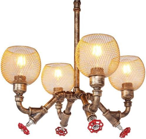 Modeen Lámparas rústicas industriales de Steampunk de la Vendimia ...