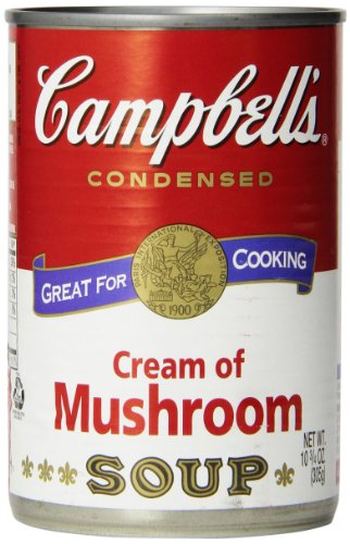 Campbell's Cream of Mushroom Soup, 10 3/4 Ounce