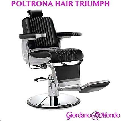 Vendita Poltrona Barbiere.Poltrona Barbiere Con Poggiapiedi A Pompa Idraulica Sedia