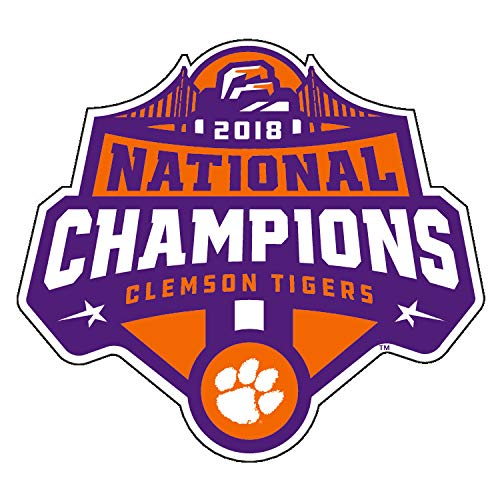 Clemson 2018 National Champions Decal