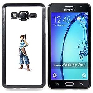 SKCASE Center / Funda Carcasa protectora - Azul Guerrero chica;;;;;;;; - Samsung Galaxy On5 O5