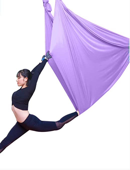 HPZN Hamaca Air Yoga Hamaca Microelástica Imunatura Yoga ...