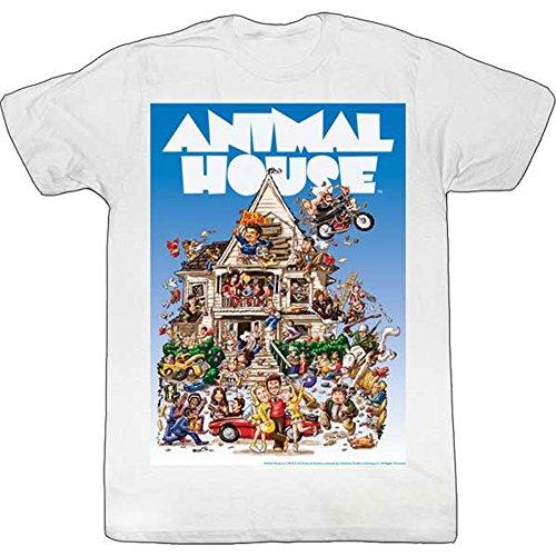Animal House Men's Big Mommas House T-Shirt XXXXX-Large White