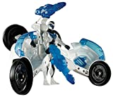 Max Steel Turbo Racer Launch The Missile Vehicle - Blue and White 2 in 1