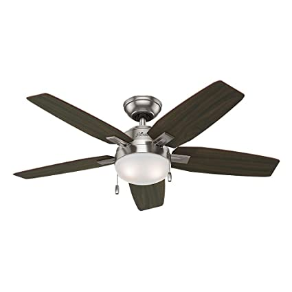 Amazon hunter antero 46 in brushed nickel indoor ceiling fan hunter antero 46 in brushed nickel indoor ceiling fan aloadofball Image collections