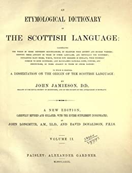 Dictionary dissertation