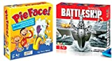 Pie Face and Battle Ship - Board Games Bundle
