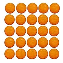 Ennrui 60PCS Orange Round Ammo - Bulk Foam Bullet Ball Replacement Refill Pack for Nerf Rival Zeus,Apollo, Khaos, Atlas, & Artemis Blasters
