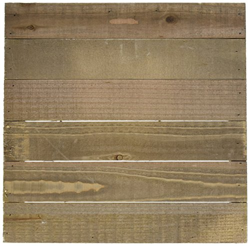 (Hampton Art JB0462 Mix The Media Wooden Plank Plaque, 12