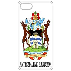 Antigua And Barbuda - Coat Of Arms White Apple Iphone 4 - Iphone 4s Cell Phone Case - Cover