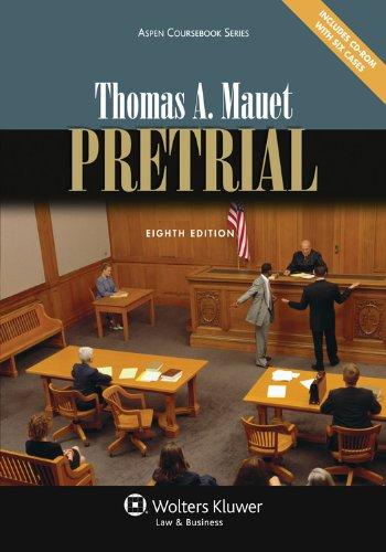 Pretrial, Eighth Edition (Aspen Coursebook Series)