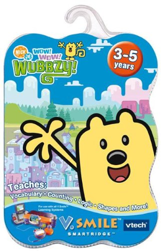 VTech V.Smile Smartridge: Wow Wow Wubbzy Smile Baby Learning System Cartridge