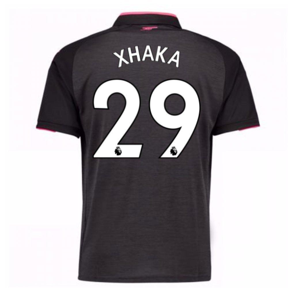 2017-18 Arsenal Third Football Soccer T-Shirt Trikot (Granit Xhaka 29)