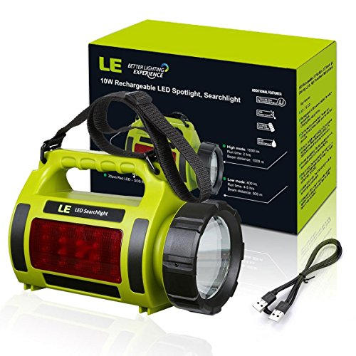 le 1000lm rechargeable cing lantern 3600mah power bank bright flashlight 3 modes l