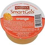 Kozy Shack Orange Smartgels, 3.5 Ounce -- 48 per case.