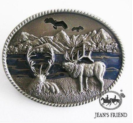 belt buckles men western cowboys cool vintage harley outdoor scene mountains river - Buckle Scene