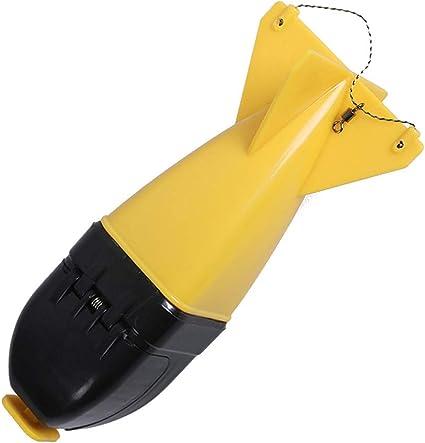 NEW Large Spomb Carp Fishing Spod Bomb Bait Rocket Floats Carp Fishing Feeder /&I