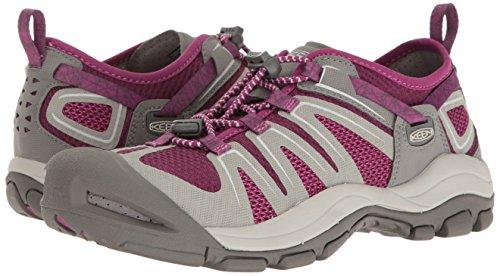 Pictures of KEEN Women's McKenzie II Hiking Shoe 1016798 Neutral Gray/Dark Purple 9 M US 4