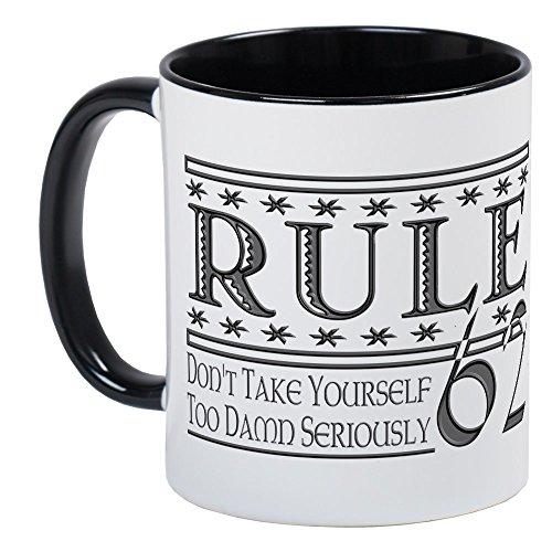 CafePress Rule 62 Alcoholism Saying Mug Unique Coffee Mug, Coffee Cup ()