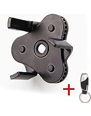 Filtro de aceite Llave 53mm - 108mm Diámetro Filtro extraíble Universal Car Tool Negro