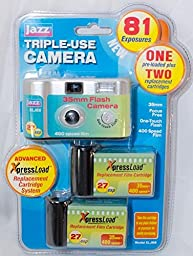 Jazz Xlj66 Triple-use Camera with Replacement Cartriges