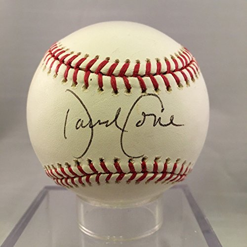 David Cone Signed Autographed Official Major League Baseball PSA DNA COA by Showpiecessports
