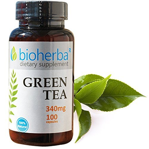 Green Tea, 340 mg, 100 capsules by Bioherba R