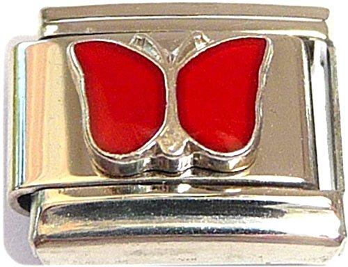 Classic Butterfly January Italian Charm ()