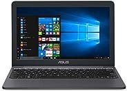 "ASUS VivoBook L203MA Ultra-Thin Laptop, 11.6"" HD, Intel Celeron N4000 Processor (up to 2.6 GHz), 4GB RAM, 64GB"