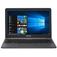 "ASUS VivoBook E203MA Ultra Thin Laptop, Intel Celeron N4000 Processor (up to 2.6 GHz), 4GB LPDDR4, 64GB eMMC Flash Storage, 11.6"" HD Display, USB-C, Windows 10 S mode, E203MA-YS03"