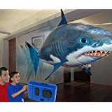 L'esclusivo Flying Shark! Incredibile squalo volante radiocomandato - pesce squalo che vola air bather swim through gonfiabile teleconandato swimmers the air