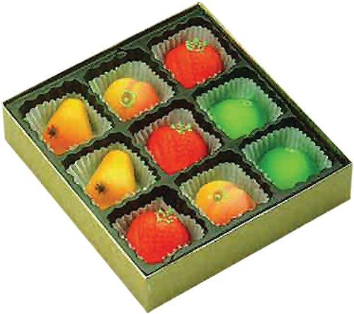 Bergen Fruit Marzipan 9 Pcs